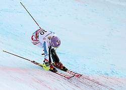 16.02.2013, Planai, Schladming, AUT, FIS Weltmeisterschaften Ski Alpin, Slalom, Damen, 2. Durchgang, im Bild Michaela Kirchgasser (AUT, 2. Platz) ueberquert die Ziellinie // 2nd place Michaela Kirchgasser of Austria crosses the finish line of womens Slalom at the FIS Ski World Championships 2013 at the Planai Course, Schladming, Austria on 2013/02/16. EXPA Pictures © 2013, PhotoCredit: EXPA/ Martin Huber