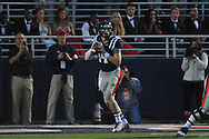 Ole Miss Rebels quarterback Bo Wallace (14) vs. Tennessee at Vaught-Hemingway Stadium in Oxford, Miss. on Saturday, October 18, 2014.