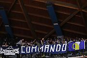 Tifosi,Ultra<br /> Red October Cantu' Banco di Sardegna Sassari<br /> Basket serie A 2016/2017<br /> Milano 23/10/2016<br /> Foto Ciamillo-Castoria<br /> Provvisorio