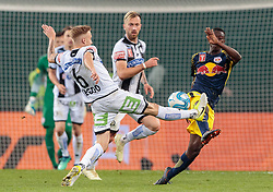 09.05.2018, Woerthersee Stadion, Klagenfurt, AUT, OeFB Uniqa Cup, SK Puntigamer Sturm Graz vs FC Red Bull Salzburg, Finale, im Bild James Alexander Jeggo (SK Puntigamer Sturm Graz), Amadou Haidara (FC Red Bull Salzburg) // during the final match of the ÖFB Uniqa Cup between SK Puntigamer Sturm Graz and FC Red Bull Salzburg at the Woerthersee Stadion in Klagenfurt, Austria on 2018/05/09. EXPA Pictures © 2018, PhotoCredit: EXPA/ Johann Groder