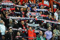 Supporters PSG - 28.04.2015 - Paris Saint Germain / Metz - Match en retard - 32eme journee Ligue 1<br />Photo : Nolwenn Le Gouic / Icon Sport