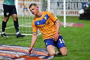 Mansfield Town midfielder Willem Tomlinson (16) during the EFL Sky Bet League 2 match between Mansfield Town and Port Vale at the One Call Stadium, Mansfield, England on 26 December 2019.