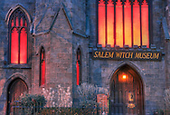 Salem Witch Museum at Dusk
