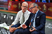 Guido Bagatta, Egidio Bianchi<br /> Vanoli Cremona - Happycasa Brindisi<br /> Finale 3° Posto Zurich Connect Supercoppa LBA 2019<br /> Bari, 22/09/2019<br /> Foto L.Canu / Ciamillo-Castoria