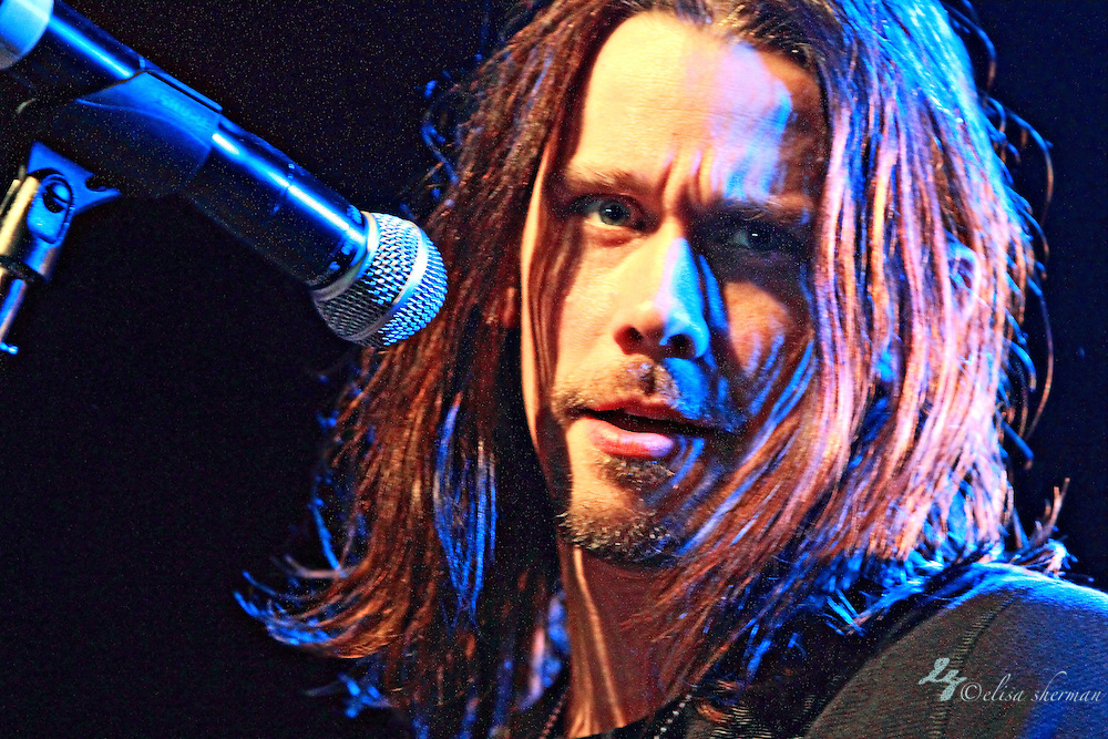 """Myles Kennedy of Alter Bridge performs on January 1st, 2011 in support of CD """"AB III""""  at the Showbox Market in Seattle, Washington"""