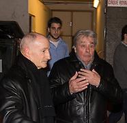 Alain Delon à Bruxelles pour la pièce de théâtre avec sa fille