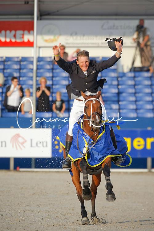 Brocks Karel (GER) - Lamarque 7<br /> Winner Final 7 years old horses<br /> World Championship Young Horses Lanaken 2009<br /> &copy; Hippo Foto - Dirk Caremans