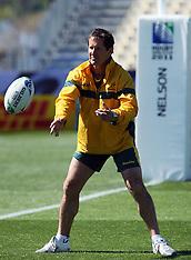 Nelson-Rugby, RWC, Australia Captains Run