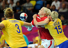 20120728 Olympics London 2012, Women Handball, Denmark-Sweden