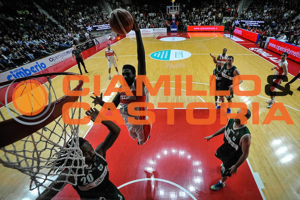 Pelle Norvel<br /> Openjobmetis Varese - Sidigas Avellino<br /> Basket Fiba Champions 2016/2017<br /> Desio 06/11/2016<br /> Foto Ciamillo-Castoria
