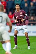 Sean Clare (#9) of Heart of Midlothian during the Ladbrokes Scottish Premiership match between Heart of Midlothian and Aberdeen at Tynecastle Stadium, Edinburgh, Scotland on 20 October 2018.