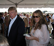 A Child asked Donald Trump for an autograph but he tells her that his wife Melania is going to sign instead, the girl was disappointed but Melania graciously signed her photo..Mercedes-Benz Challenge Cup.Bridgehampton Polo.Bridgehampton Polo Club, Hayground Road, Water Mill, NY, USA.Saturday, August 18, 2007.Photo By Celebrityvibe.com.To license this image please call (212) 410. 5354; or.Email: celebrityvibe@gmail.com ;.