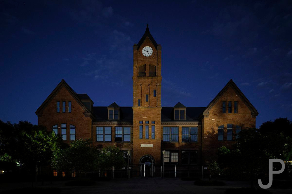 UCO Clock tower in Edmond, Oklahoma