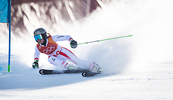 February 15, 2018 - Pyeongchang, South Korea - ANNA VEITH of Austria on her first run at the Womens Giant Slalom event Thursday, February 15, 2018 at the Yongpyang Alpine Centerl at the Pyeongchang Winter Olympic Games.  Photo by Mark Reis, ZUMA Press/The Gazette (Credit Image: © Mark Reis via ZUMA Wire)