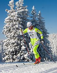 Anja Erzen of Slovenia at Ladies 15 km  Classic Mass Start Competition of Viessmann Cross Country FIS World Cup Rogla 2009, on December 20, 2009, in Rogla, Slovenia. (Photo by Vid Ponikvar / Sportida)