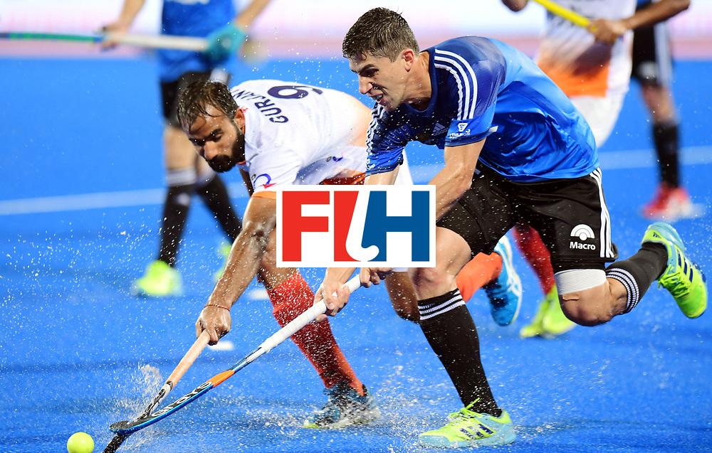 Odisha Men's Hockey World League Final Bhubaneswar 2017<br /> Match id:19<br /> India v Argentina<br /> Foto: Gurjant Singh (Ind) <br /> COPYRIGHT WORLDSPORTPICS FRANK UIJLENBROEK