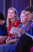 Koninklijke familie bij uitreiking Prins Claus Prijs 2018 aan de Market Photo Workshop; een cultureel platform en opleidingsinstituut in Johannesburg, Zuid-Afrika <br /> <br /> Royal family at the Prince Claus Award 2018 at the Market Photo Workshop; a cultural platform and training institute in Johannesburg, South Africa<br /> <br /> Op de foto / On the photo:  De Koninklijke familie met Koning Willem Alexander , Koningin Maxima , Prinses Mabel , Prins Constantijn en prinses Beatrix / The royal family with King Willem Alexander, Queen Maxima, Princess Mabel, Prince Constantine and Princess Beatrix