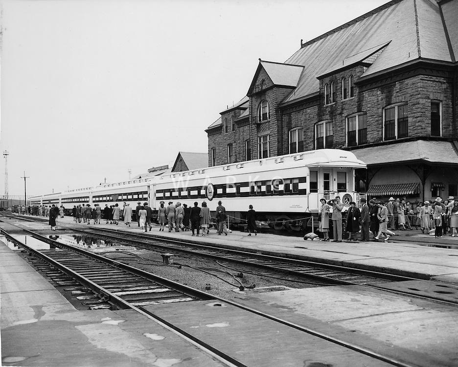 Historic Union Depot circa 1940s