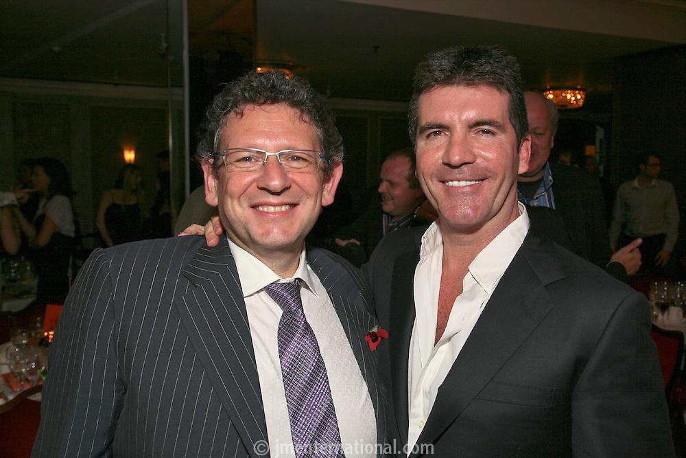 Lucian Grainge and Simon Cowell