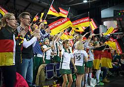 LEIZPIG - WC HOCKEY INDOOR 2015<br /> GER v NED (Semi Final 1)<br /> Fans <br /> FFU PRESS AGENCY COPYRIGHT FRANK UIJLENBROEK