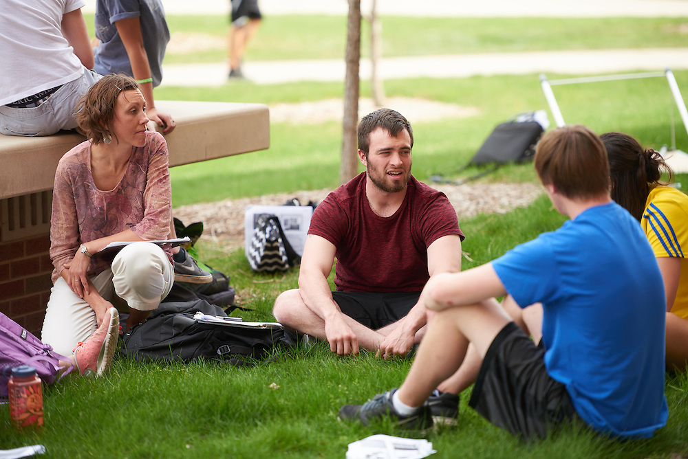 Activity; Research; Studying; Teaching; Location; Outside; People; Student Students; Spring; April; Time/Weather; day; Type of Photography; Candid; UWL UW-L UW-La Crosse University of Wisconsin-La Crosse