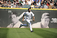 CHICAGO - JUNE 09:  Jordan Danks of the Chicago White Sox fields against the Houston Astros on June 9, 2012 at U.S. Cellular Field in Chicago, Illinois.  The White Sox defeated the Astros 10-1.  (Photo by Ron Vesely)   Subject: Jordan Danks