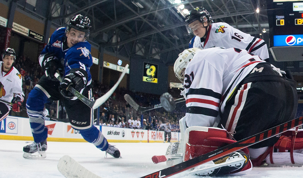 The Victoria Royals beat the Portland Winterhawks 5-1 in WHL action at the Save-on-Foods Memorial Centre in Victoria, British Columbia Canada on December 13, 2016.