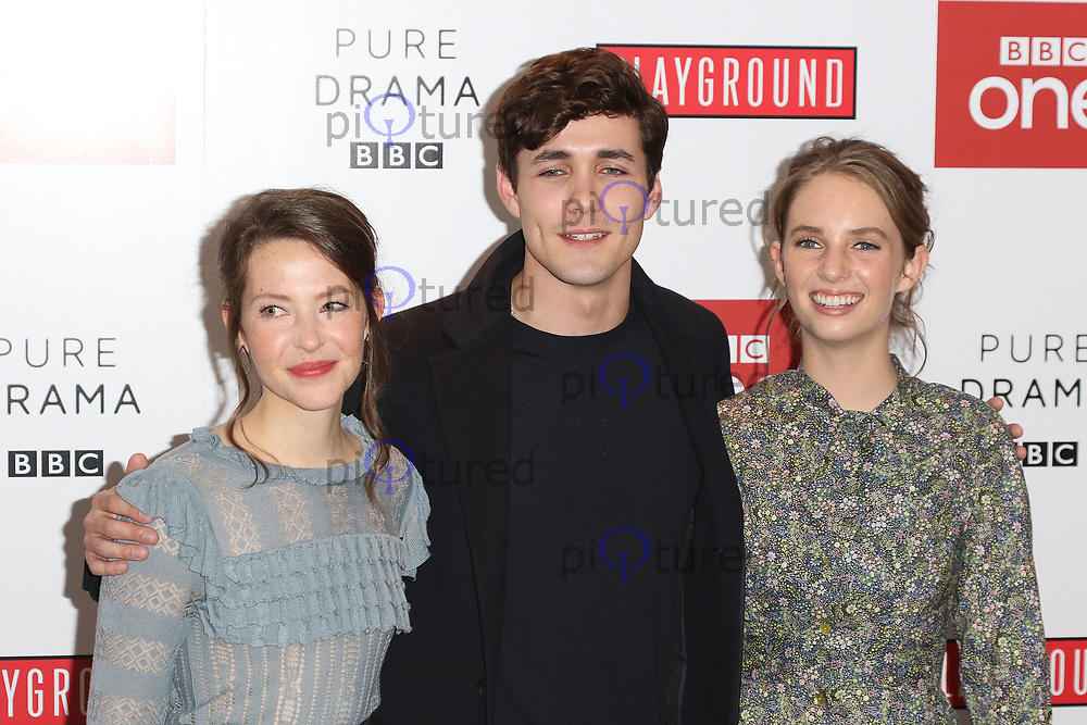 Annes Elwy, Jonah Hauer-King, Maya Thurman-Hawke, Little Women - Special Q&A Screening, The Soho Hotel, London UK, 11 December 2017, Photo by Richard Goldschmidt