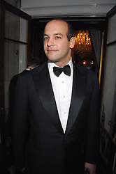 TODD MEISTER former husband of Nicky Hilton at the Ark 2007 charity gala at Marlborough House, Pall Mall, London SW1 on 11th May 2007.<br />