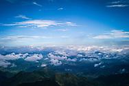 Mountainous landscape, Mau Son, Vietnam, Southeast Asia