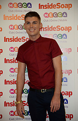 Inside Soap Awards.<br />  Kieron Richardson  arrives for the Inside Soap Awards, Ministry of Sound, London, United Kingdom,<br /> Monday, 21st October 2013. Picture by Andrew Parsons / i-Images