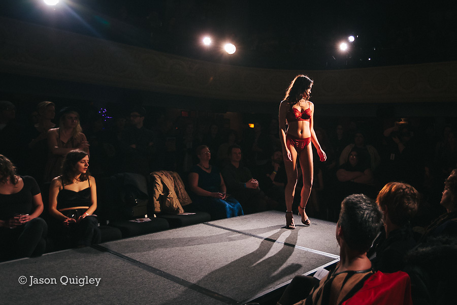 Lille Boutique at Unmentionable: A Lingerie Exhibition at the Mission Theater in Portland, OR. Feb. 8, 2017. Photo by Jason Quigley www.photojq.com