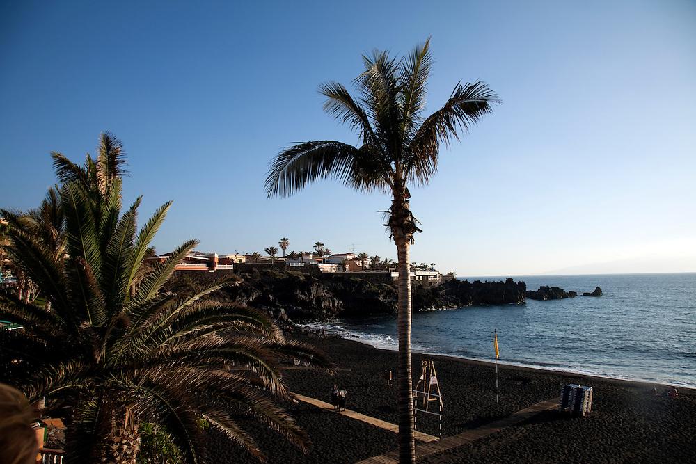 PLAYA DE LA ARENA, Syd Tenerife.
