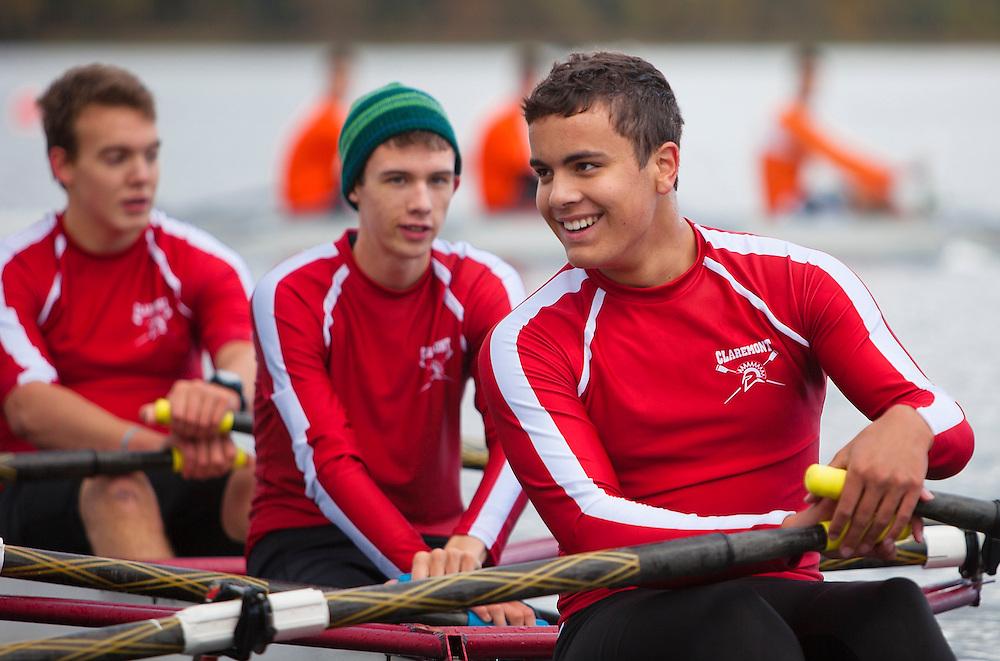 Rowing Photo Claremont CSI High School Elk Lake Canada 2nd regatta