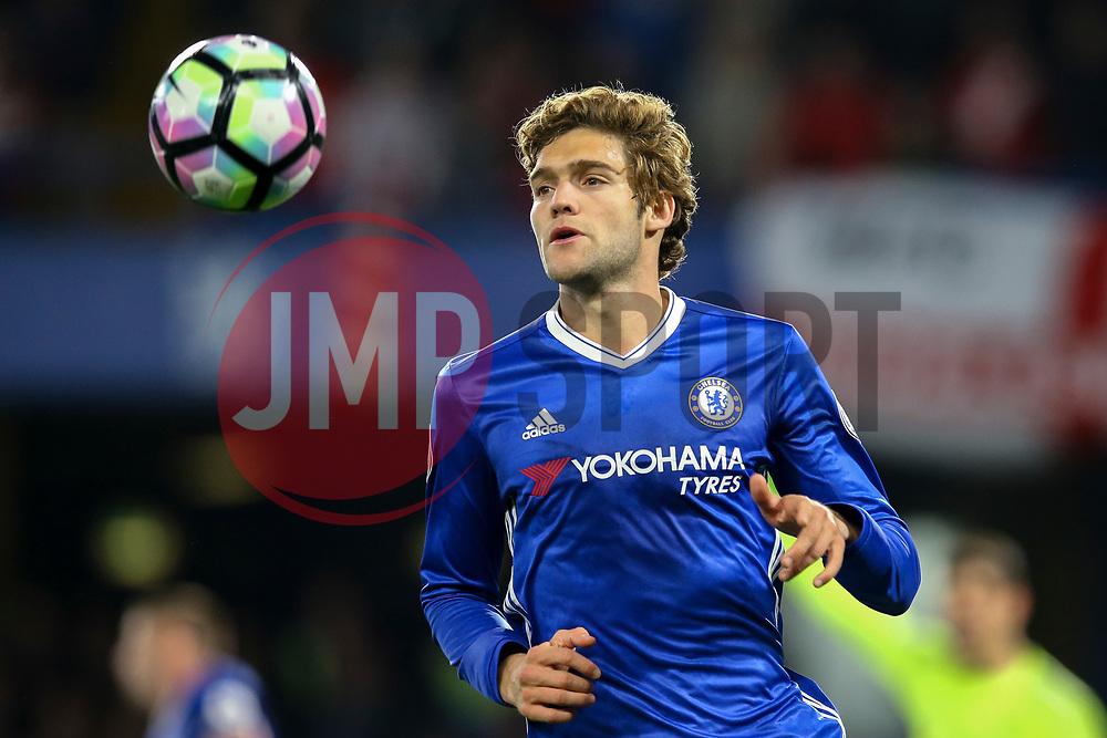 Marcos Alonso of Chelsea - Mandatory by-line: Jason Brown/JMP - 08/05/17 - FOOTBALL - Stamford Bridge - London, England - Chelsea v Middlesbrough - Premier League