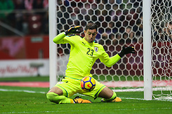 November 10, 2017 - Warsaw, Poland - Martin Silva (URU)  in action during the international friendly match between Poland and Uruguay at National Stadium on November 10, 2017 in Warsaw, Poland. (Credit Image: © Foto Olimpik/NurPhoto via ZUMA Press)