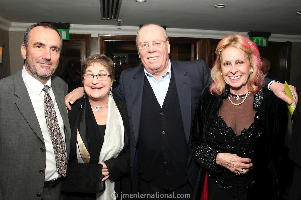 David Munns, Pauline Etkin and Mr and Mrs Willie Robertson