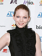 Cerri McQuillan attends the A&E Upfronts at the IAC Building in New York City on May 5, 2010.