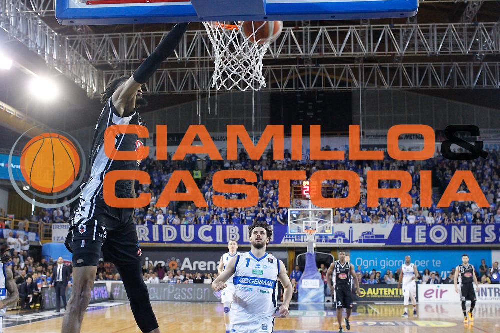 Putney Raphiael<br /> Germani Basket Brescia Leonessa - Pasta Reggia Juve Caserta<br /> Lega Basket Serie A 2016/2017<br /> Montichiari, 02/04/2017<br /> Foto Ciamillo-Castoria / M. Brondi