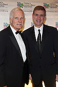 l to r: Ted Turner and Les Lieberman at Children's Cancer & Blood Foundation Breakthrough Ball held at The Plaza Hotel on October 20, 2009..