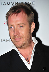 © Licensed to London News Pictures. 10/02/2012. London, England. Rhys Ifans attends a private dinner ahead of sundays Bafta awards hosted by William Banks-Blaney of WilliamVintage and actress Gillian Anderson at St Pancras Renaissance Hotel London  Photo credit : ALAN ROXBOROUGH/LNP