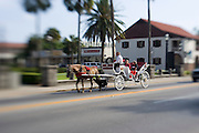 Horse and carriage ride, St. Augustine, Florida<br />