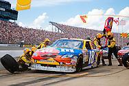 June 14, 2009: 18 Kyle Busch at the Life Lock 400 race, Michigan International Speedway, Brooklyn, MI.