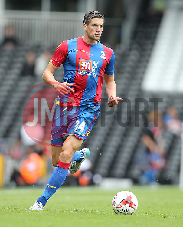 Martin Kelly of Crystal Palace - Mandatory by-line: Paul Terry/JMP - 07966386802 - 01/08/2015 - SPORT - FOOTBALL - Fulham,England - Craven Cottage - Fulham v Crystal Palace - Pre-Season Friendly