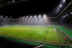 during the football match between NK Olimpija and HIT Gorica, played in the 11th Round of Prva liga football league 2010 - 2011, on September 25, 2010, SRC Stozice, Ljubljana, Slovenia. (Photo by Vid Ponikvar / Sportida)