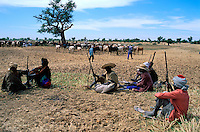 Mali, region de Sofara, Chasseur Mandingue // Mali, Sofara area, Mandingue hunter