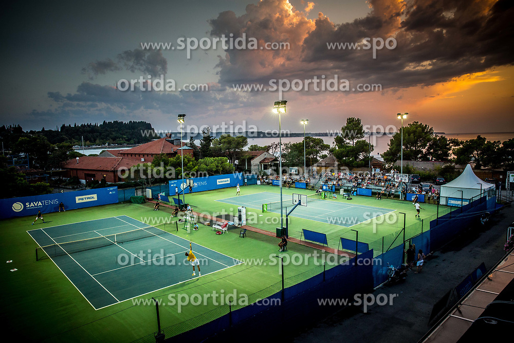 ATP Challenger Zavarovalnica Sava Slovenia Open 2017, on August 10, 2017 in Sports centre, Portoroz/Portorose, Slovenia. Photo by Vid Ponikvar / Sportida