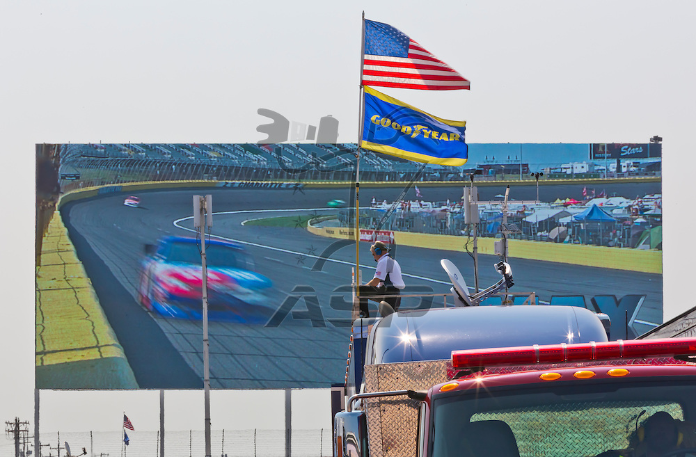 CONCORD, NC - MAY 26, 2012:  The NASCAR Sprint Cup teams take to the track for a practice session for the Coca-Cola 600 at the Charlotte Motor Speedway in Concord, NC.