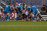 Foto Alfredo Falcone - LaPresse<br /> 23/11/2013 Roma ( Italia)<br /> Sport Rugby<br /> Italia - Argentina<br /> Rugby Test Match - Stadio Olimpico di Roma<br /> Nella foto:<br /> una fase di gioco<br /> Photo Alfredo Falcone - LaPresse<br /> 23/11/2013 Roma (Italy)<br /> Sport Rugby<br /> Italy - Argentina<br /> Rugby Test Match - Olimpico Stadium of Roma<br /> In the pic: