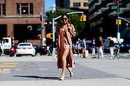 New York - Street Style - 12 Sep 2016
